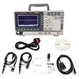 BEVANNJJ ZYY Osciloscopio Digital de Almacenamiento, 2CH / 4CH múltiples Funciones de multímetro Digital de 100 MHz de Ancho de Banda Diagnóstico Análisis 100-240 (GDS-1102R / UK)