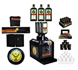 Jägermeister 3 Bottle TAP Maschine mit 3x Jägermeister 1L (35% Vol) Fan Bar Set - XXL Set - bar reklame party