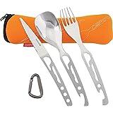baladeo(バラデオ) 5 functions cutlery set Basecamp ORANGE BD-0114