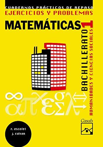 Ejercicios y problemas 1. Matemáticas. Humanidades y Ciencias Sociales Bachillerato (2008) - 9788421837719
