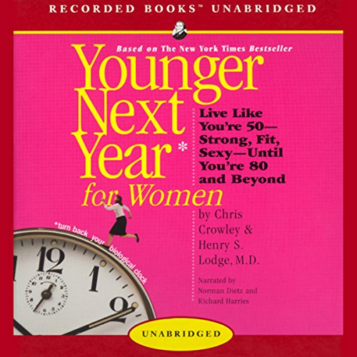 Younger Next Year for Women audiobook cover art