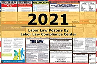 2021 Texas/Federal Combination Labor Law Posters (New)!
