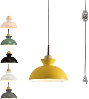 bathroom toilette or kitchen island .ceiling lamp Hanging pendants light with yellow flowers for bedroom