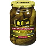 Best Dill Pickles - Mt. Olive, Kosher Dill Petite Snack Crunchers Review
