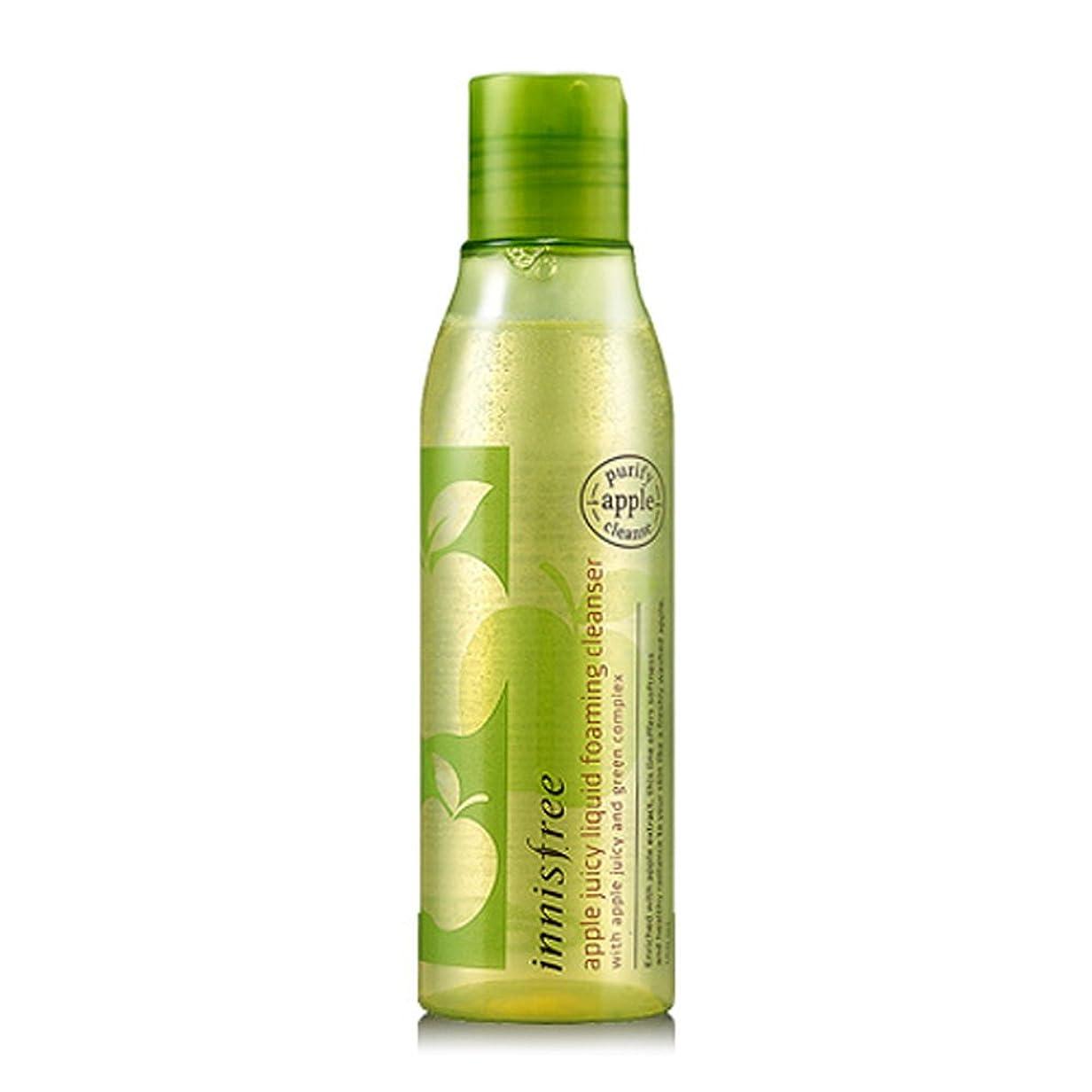 感じる提出する増加する[イニスフリー Innsfree] Apple Juicy Liquid Foaming Cleanser 150ml