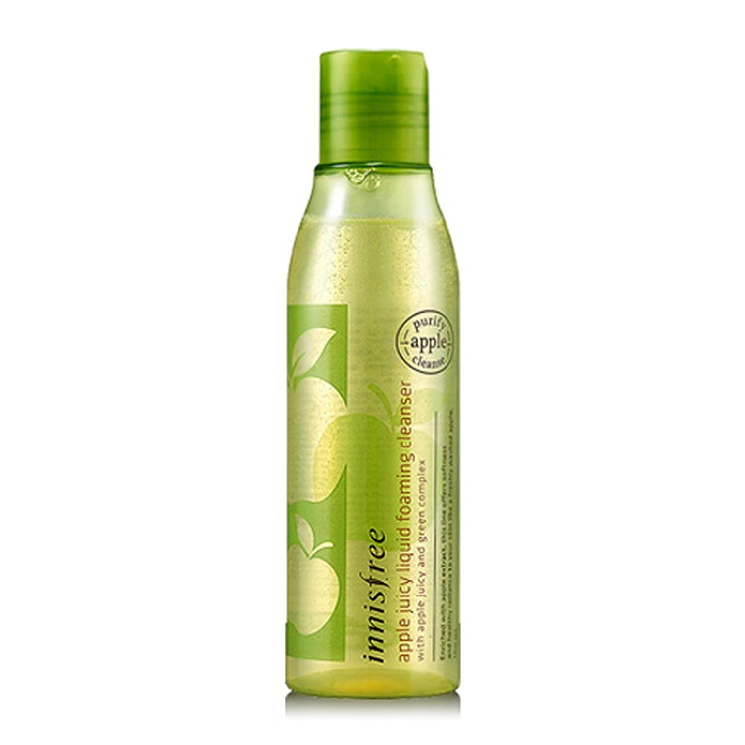過度の戸口大砲[イニスフリー Innsfree] Apple Juicy Liquid Foaming Cleanser 150ml