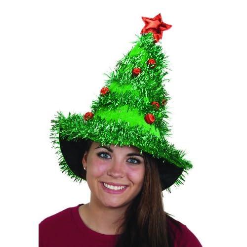 2fe79079fc Jacobson Hat Company Women s Light-Up Christmas Tree Hat