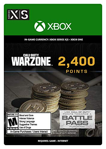 Call of Duty: Warzone Points - 2400 - Xbox [Digital Code]
