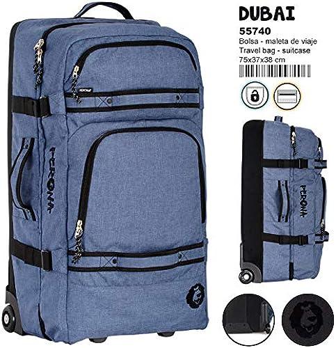 Montichelvo Montichelvo Wheeled Bag Pr Dubai Schulranzen, 75 cm, Mehrfarbig (Multicolour)