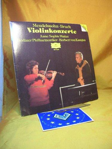 Violinkonzerte - Anne-Sophie Mutter, Violine - Berliner Philharmoniker - Dirigent: Herbert von Karajan. ( Vinyl LP )