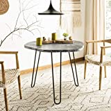 Safavieh Home Mindy Modern Grey and White Wash Dining Table