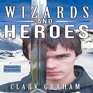 Wizards and Heroes audiobook cover art
