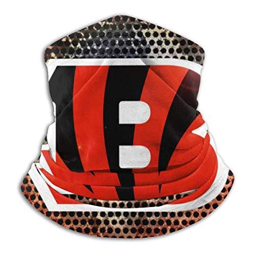 BaoBei-shop Staubschutz Cincinnati-Bengals Wallpaper Gesichtsschutz Half Face Rave Cover für Männer Frauen-S6