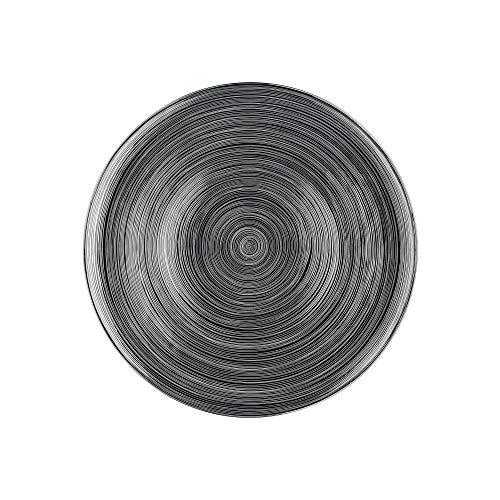 Rosenthal Rosenhal 11280-403262-10263 TAC Gropius - Stripes 2.0 Titan. - Platzteller - Porzellan - Ø 33 cm