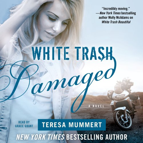 White Trash Damaged audiobook cover art