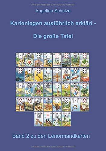 Kartenlegen ausführlich erklärt - Die große Tafel: Band 2 zu den Lenormandkarten