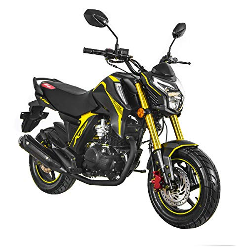 Lifan 150cc Gas Motorcycle Adult Motorcycle Moped Scooter KP Mini 150 Street Motorcycle Bike Assembled,Yellow