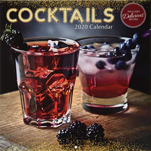 Cocktails 2020 - 16-Monatskalender: Original The Gifted Stationery Co. Ltd [Mehrsprachig] [Kalender] (Wall-Kalender)