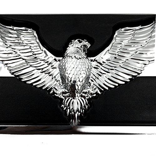 Adler Hawk Emblem verchromt Willie G Foot großes Bremspedal für Harley Heritage Springer FLSTS Ultra