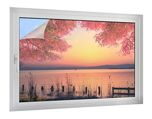 Klebefieber Sichtschutz Wasserblick B x H: 120cm x 80cm