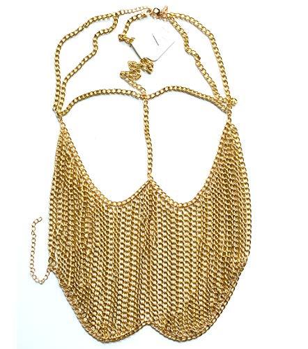 Astage Cosplay Tribel Belly Dance Ornaments Head Chain Nightclub Sexy Veil Gold