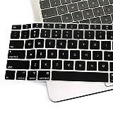 Macbook air 13.3 2020 日本語 JIS配列 キーボードカバー 保護 フィルム TopACE 超薄型 超耐磨 保護 フィルム 究極のさらさら感 1枚入り Macbook air 13.3 2020 対応 (ブラック)