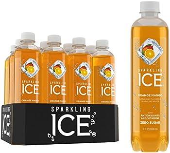 12-Pack Sparkling Ice Orange Mango, 17 Ounce