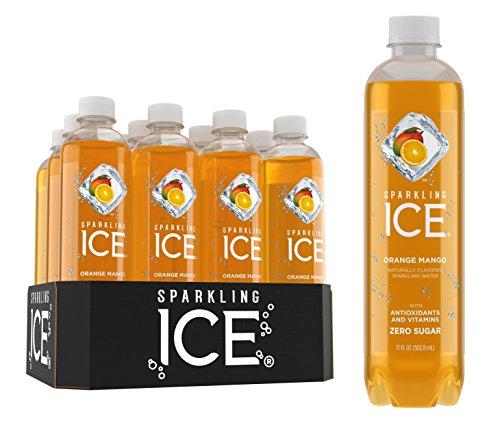 Sparkling Ice, Orange MangoSparkling Water,...
