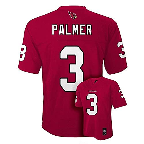 c4f555bd9acf Carson Palmer Arizona Cardinals NFL Youth Red Home Mid-Tier Jersey (Youth  Medium 10
