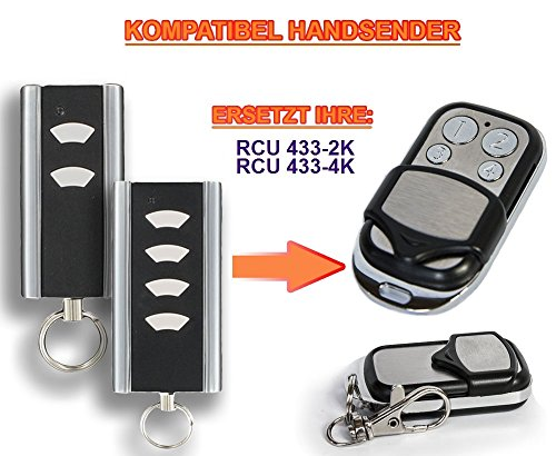 NORMSTAHL RCU433 2K, Normstahl RCU433 4K kompatibel handsender / ersatz, 433.92Mhz rolling code fernbedienung