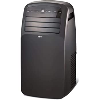 LG Portable Air Conditioner with LCD Remote Control | 115V for rooms up to 400 Sq. Ft. | LP1215GXR model