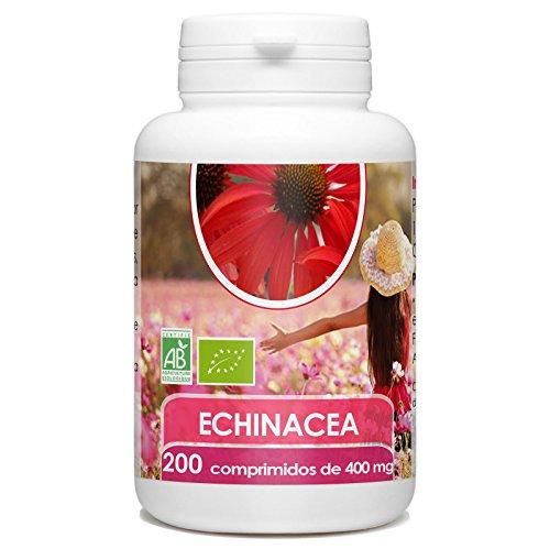 Echinacea Orgánica - Echinacea purpurea - 400mg -200 comprimidos