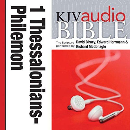 King James Version Audio Bible:1 Thessalonians through Philemon audiobook cover art