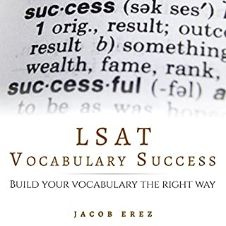 LSAT Vocabulary Success: Build Your Vocabulary the Right Way audiobook cover art