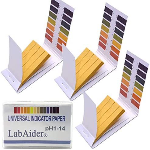 3 Pack pH 1 14 Test Paper Extensive Test Paper Litmus Test Paper 240 Strips pH Test with Storage product image