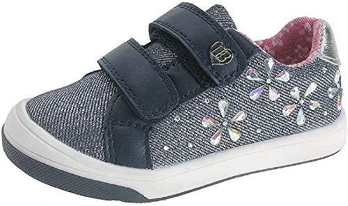 Beppi Unisex Baby Zapatos Sneaker, Blau, 24 EU
