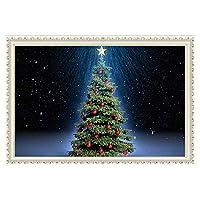 スコビッチクリスマスツリーパターンダイヤモンド塗装壁アート装飾刺繍キットダイヤモンド塗装-40x30cm