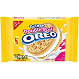 Oreo Golden Double Stuf Sandwich Cookie, 15.25 oz