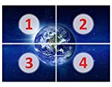 mantiburi Fototapete No. 217'Mother Earth' Inclusive 50leuchtende Sterne, Grà ¶ ãÿewallpaperwithglue: 200x 280