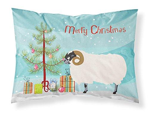 Caroline's Treasures Scottish Blackface Sheep Christmas Kissenbezug, Mehrfarbig, Standard