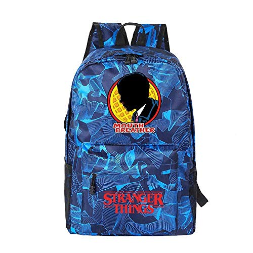 Backpack Starry Sky School Stranger Things Printed College Laptop Bag For Adults/Elementary/middle School Students 9-18 inches