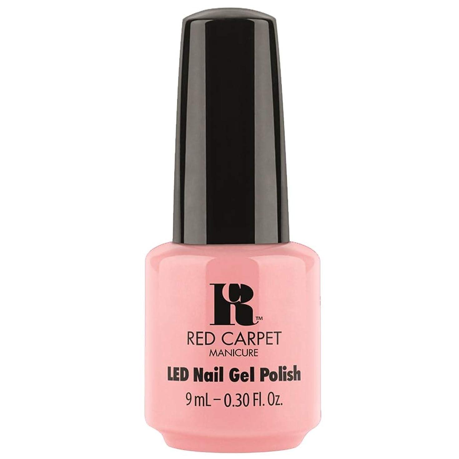 補正リスナー我慢するRed Carpet Manicure - LED Nail Gel Polish - Frolic in the Sand - 0.3oz / 9ml