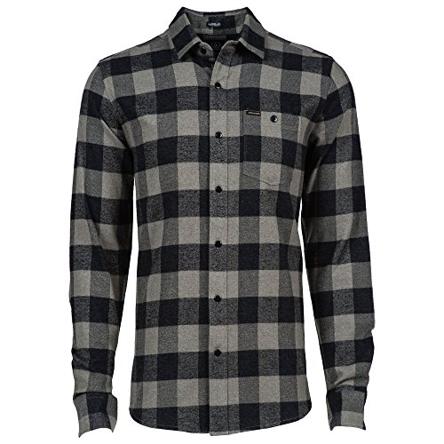 Volcom A0541504 - Chemise casual - Taille normale - Manches longues - Homme - Multicolore - Medium (Taille fabricant: M)