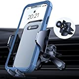 andobil Car Vent Phone Mount [Vertical & Round Vent Friendly] Ultra Stable Vent Phone Holder with 3 Point Feet, Compatible with iPhone 13/12/12 Pro/11/11 Pro Max