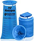 MP Mozzpak Vomit Bags – 24 Pack – 1000ml Emesis Bags – Leak Resistant, Medical Grade, Portable, Disposable Barf Bags, Puke, Throw Up, Nausea Bags for Travel Motion Sickness, Car & Aircraft, Kids, Taxi