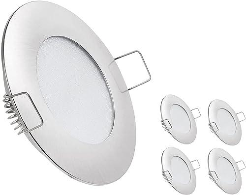 12V LED RV Boat Ceiling Lights Recessed Dome Light Cabinet Lights LED Interior Lighting for Motorhome Sailboat Yacht ...