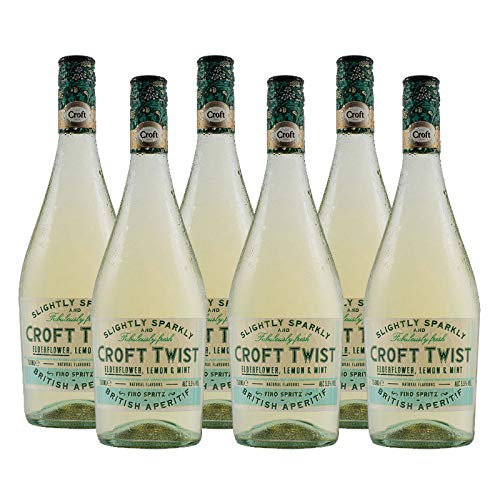 Vino Fino Croft Twist de 75 cl - D.O. Jerez - Bodegas Gonzalez Byass (Pack de 6 botellas)