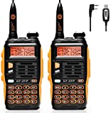 BaoFeng GT-3TP Radio Emetteur-Récepteur Talkie Walkie Orange/Noir