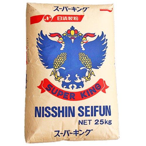【食パンに最適な最強力小麦粉】 日清製粉 スーパーキング 2kg袋