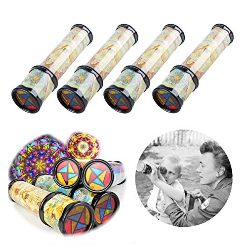 DLOnline 4PCS Old World Kaleidoscope, Magic Classic Toy for...